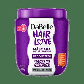 Mascara-Dabelle-Hair-Love-Reconstroi-400g-7908448000091