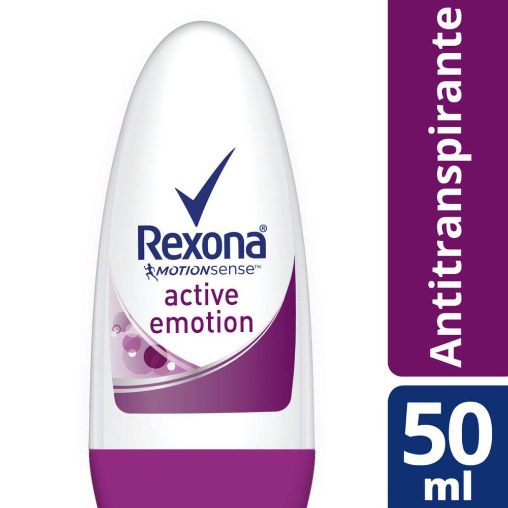 Desodorante Rexona Roll On Feminino Active Emotion 50ml