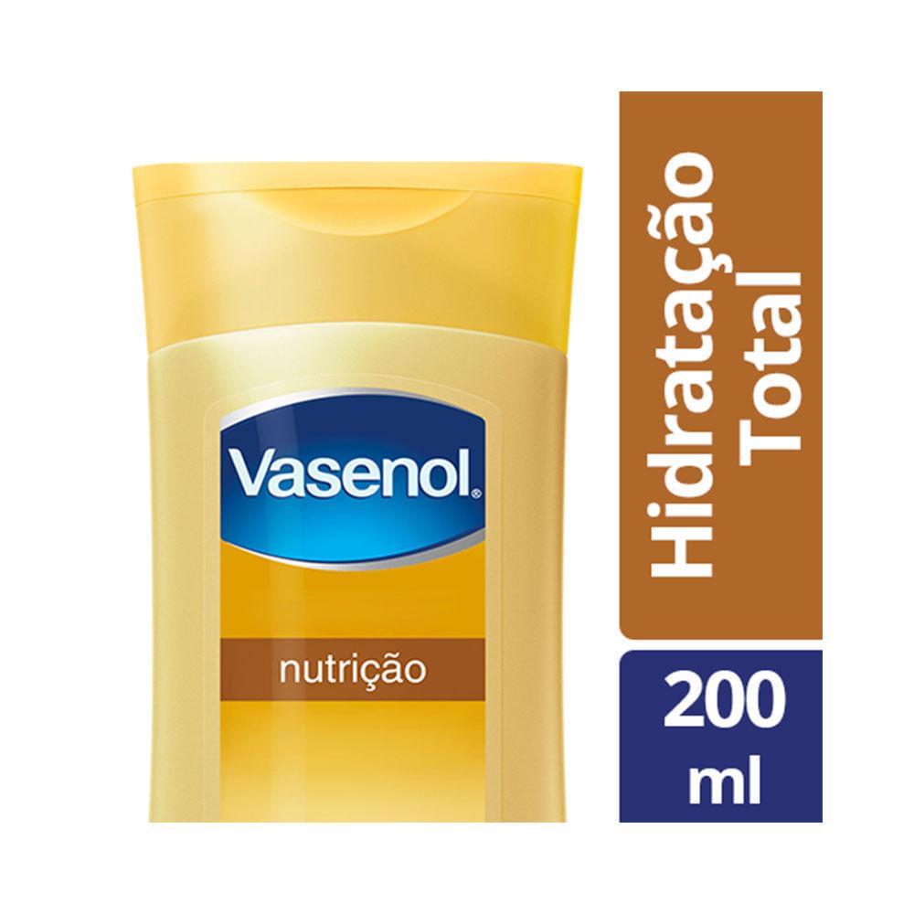 Loção Desodorante Hidratante Vasenol  Hidratação Total Nutrição 200 ML