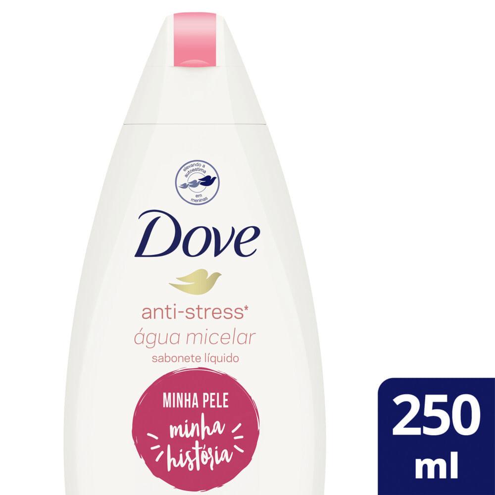 Sabonete Líquido Shower Micelar Dove 250ml