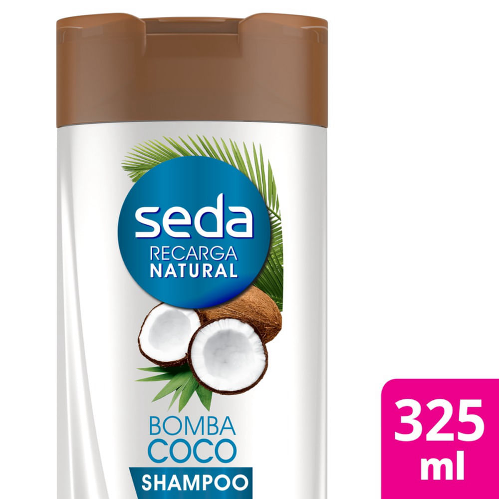 Shampoo Seda Bomba Coco 325ml