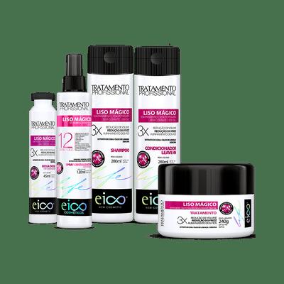 Kit-Eico-Liso-Magico-Shampoo---Condicionador-280ml---Spray-120ml---Mascara-240g---Ampola-45ml-9900000021849