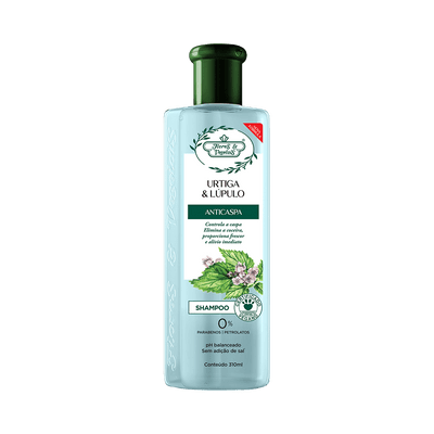 Shampoo-Flores---Vegetais-Urtiga-e-Lupulo-300ml-7896671600495